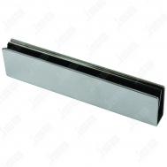Кронштейн для крепления замка на стеклянную дверь SOCA UB-500
