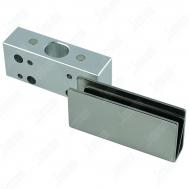 Кронштейн для крепления замка на стеклянную дверь SOCA BR-100C