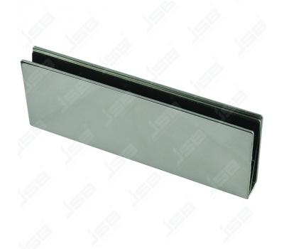 Кронштейн для крепления замка на стеклянную дверь SOCA UB-220
