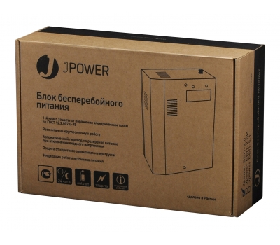 Блок бесперебойного питания J-Power ББП-2.0