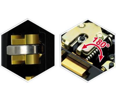 Электромеханический замок J-Lock JL-11P Black