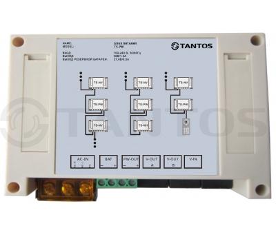 Блок питания для многоквартирного видеодомофона Tantos TS-PW