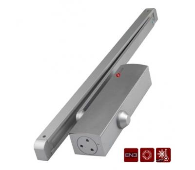 Дверной доводчик со скользящей тягой J-Lock JDC-E65GB